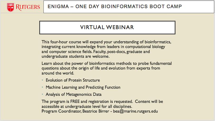 Bioinformatics slide2